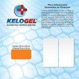 Placa de silicone para queimados e cicatrizes 20x20cm kelogel