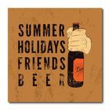 Placa Decorativa - Beer - Cerveja - 2000plmk - Allodi
