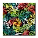 Placa Decorativa - Folhagens - 1551plmk - Allodi