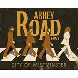 Placa Decorativa Litoarte DHPM-265 24x19cm City Westminster