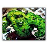 Placa Decorativa MDF Ambientes 20 cm x 30 cm - Hulk The Avengers Os Vingadores (BD01) - Skin t18