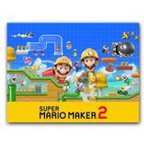 Placa Decorativa MDF Ambientes 20 cm x 30 cm - Mario Maker 2 Luigi (BD54) - Bd net collections
