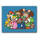 Placa Decorativa MDF Ambientes 20 cm x 30 cm - Nintendo (BD02) - Skin t18