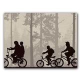 Placa Decorativa MDF Ambientes 20 cm x 30 cm - Stranger Things (BD11) - Skin t18