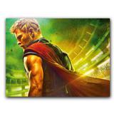 Placa Decorativa MDF Ambientes 20 cm x 30 cm - Thor Ragnarok (BD13) - Skin t18