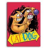 Placa Decorativa MDF Ambientes 30 cm x 20 cm - CatDog Nickelodeon Desenho Clássico (BD61) - Bd net collections