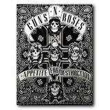 Placa Decorativa MDF Ambientes 30 cm x 20 cm - Guns n Roses (BD01) - Skin t18