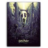 Placa Decorativa MDF Ambientes 30 cm x 20 cm - Harry Potter e o Cálice de Fogo (BD63) - Bd net collections