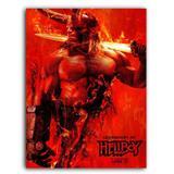 Placa Decorativa MDF Ambientes 30 cm x 20 cm - HellBoy (BD63) - Bd net collections
