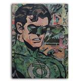 Placa Decorativa MDF Ambientes 30 cm x 20 cm - Lanterna Verde DC Comics (BD63) - Bd net collections