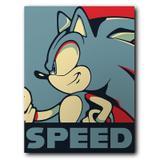 Placa Decorativa MDF Ambientes 30 cm x 20 cm - Sonic (BD01) - Skin t18
