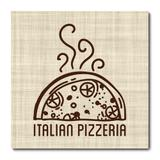 Placa Decorativa - Pizza - 1909plmk - Allodi
