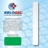 Placa em gel de silicone para cicatriz  3x35cm kelogel