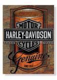 Placa Harley Lata - Tecnolaser