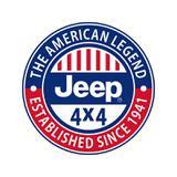 Placa Jeep 4x4 The american Legend - All classics
