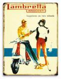 Placa Lambretta - Tecnolaser