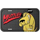 Placa Metal Mutley Corrida Maluca - Versare anos dourados