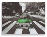 Placa Mini Cooper Verde - Tecnolaser