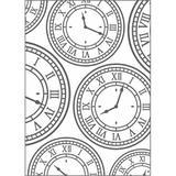 Placa para Relevo 2D Elegance Relógio Vintage I 20927 PPR013 - Toke e crie
