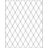 Placa para Relevo 2D Elegance Toke e Crie PPR010 13,9x10,7 Losango