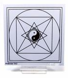 Placa Radiônica Pirâmide TAO (PVC) - Master chi do brasil
