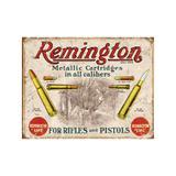 Placa Remington Rifles and Pistols - All classics
