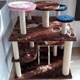 Playground para Gatos com Arranhador Luppet - Luppet madeiras
