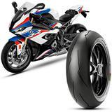 Pneu Moto Bmw S1000rr Pirelli Aro 17 200/55r17m 78w TL Traseiro Diablo Supercorsa Sp