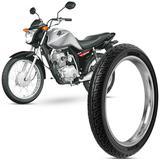 Pneu Moto Honda Cg Fan Rinaldi Aro 18 2.75-18 42p Dianteiro BS32
