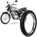 Pneu Moto Honda CG Fan Rinaldi Aro 18 90/90-18 57p Traseiro BS32