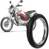 Pneu Moto Honda Cg Titan Rinaldi Aro 18 90/90-18 57p Traseiro BS32