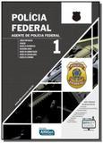 Policia federal - agente da policia federal -vol.1 - Alfacon