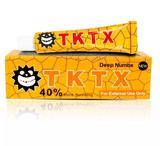 Pomada Anestésica Tktx Amarela 40 Micropigmentação Tattoo