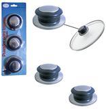 Pomel / puxador para tampa panela com 3 unidades - Aramados