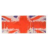 Porta Chaves Bandeira Inglaterra C/ 4 Ganchos - Reduna