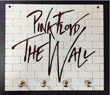 Porta Chaves Pink Floyd Em Mdf Tamanho 19 X 17 Cm - Mundo do militar