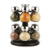 Porta condimentos base giratória Globe 13 peças - 14674 - Cozi