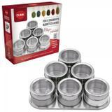 Porta Condimentos Magnético em Inox c/6 Pçs - Clink