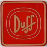 Porta Copo Quadrado Duff MDF - Geton