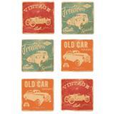 Porta Copos Clássicos Vintages Chevrolet Retrô - Versare anos dourados