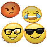 Porta Copos Emoticons - Emojis v2 - Geek10