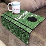 Porta Copos Esteira Para Sofa Adesivado Futebol - Dcasa