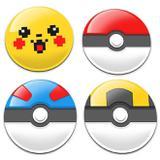 Porta Copos PokeBalls e Pikachu. - Yaay