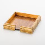Porta Guardanapo Bambu 15 cm - Woodart