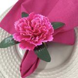 Porta Guardanapo Cravo Pink - 4 unidades - Maison charlô