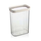 Porta mantimentos de acrílico hermético Lumes Ou 1,6 litros - 23571