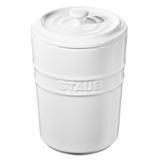 Porta Mantimentos de Cerâmica Staub Branco 1L - 24966