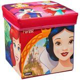 Porta Objeto Banquinho Princesas - Zippy Toys