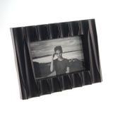 Porta Retrato 3D Ondas Preto - Amigold