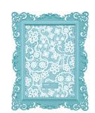 Porta Retrato Candy Azul 13x18 - Mart